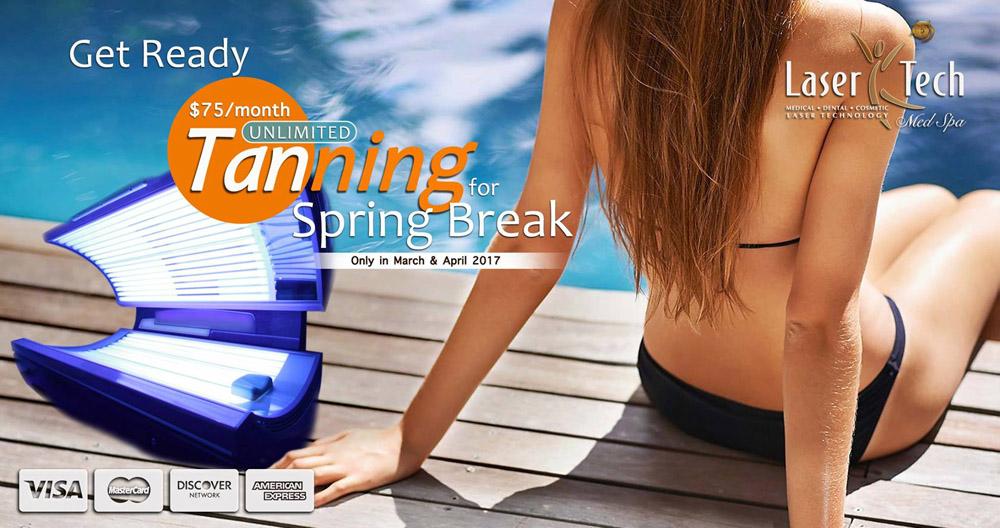 LaserTech Tanning for Spring Break